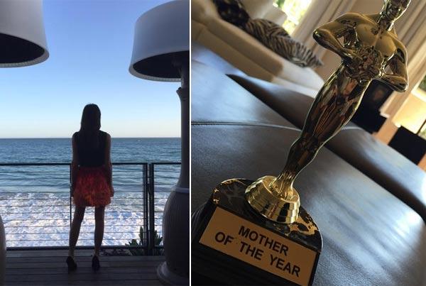 Victoria Beckham recibe el Oscar a la 'madre del año' por su 41º aniversario