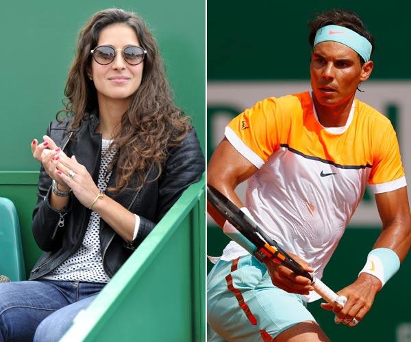 La novia de Rafa Nadal y la mujer de Novak Djokovic, sus mejores fans en un encuentro decisivo