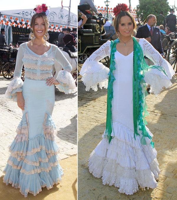 Gloria Ortega, Desiré Cordero, Vicky Martín Berrocal, Marina Danko, Ainhoa Arteta... la Feria de Abril se llena de bellas 'gitanas'