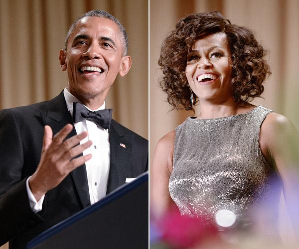 'Glamour', buen humor e invitados de lujo en la cena de corresponsales de la Casa Blanca