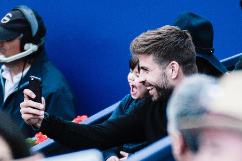 La tarde más divertida de Shakira y Piqué con su hijo Milan