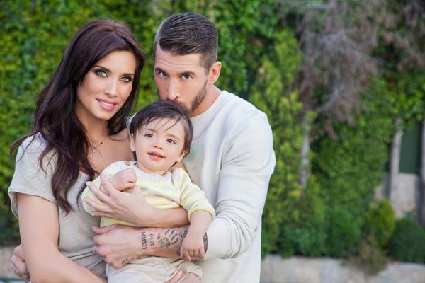 Pilar Rubio y Sergio Ramos presentan a su hijo al anunciar que van a ser padres de nuevo