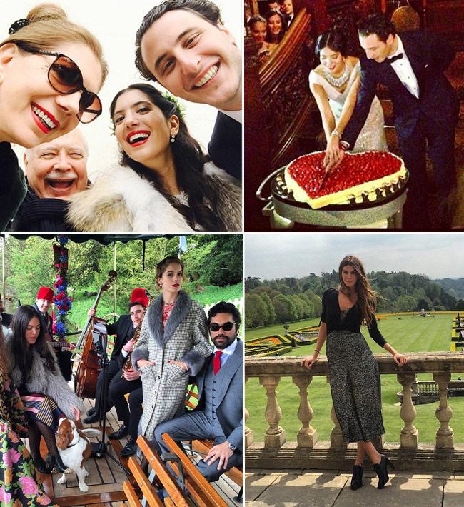 La boda años 20 de Noor Fares, la prestigiosa joyera amiga de Tatiana Santo Domingo