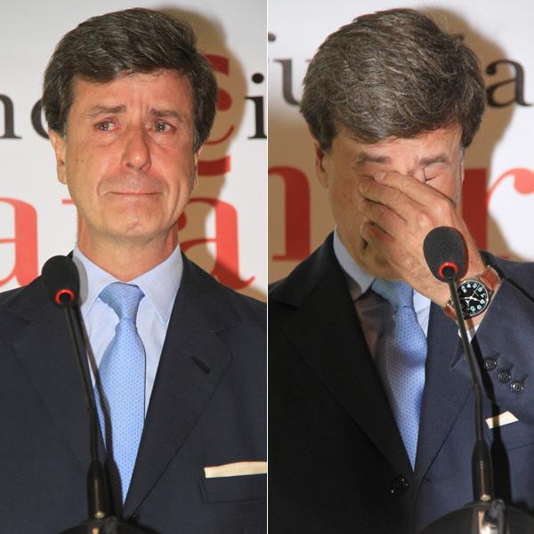 Las lágrimas de Cayetano Martínez de Irujo al recordar a su madre, la Duquesa de Alba
