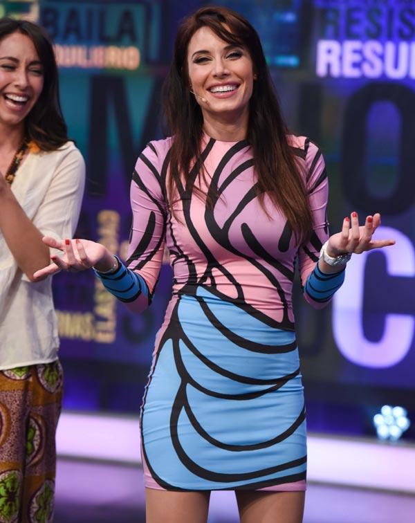 Pilar Rubio presume de su segundo embarazo en televisión