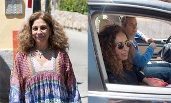 Lolita, muy arropada por su familia en su cumpleaños, el primero que celebra tras su separación de Pablo Durán