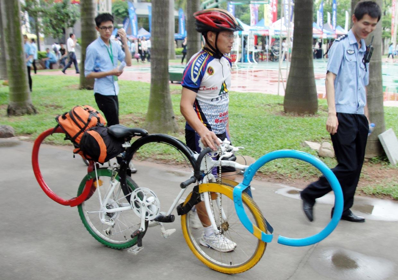 Una bicicleta de lo más 'olímpica'