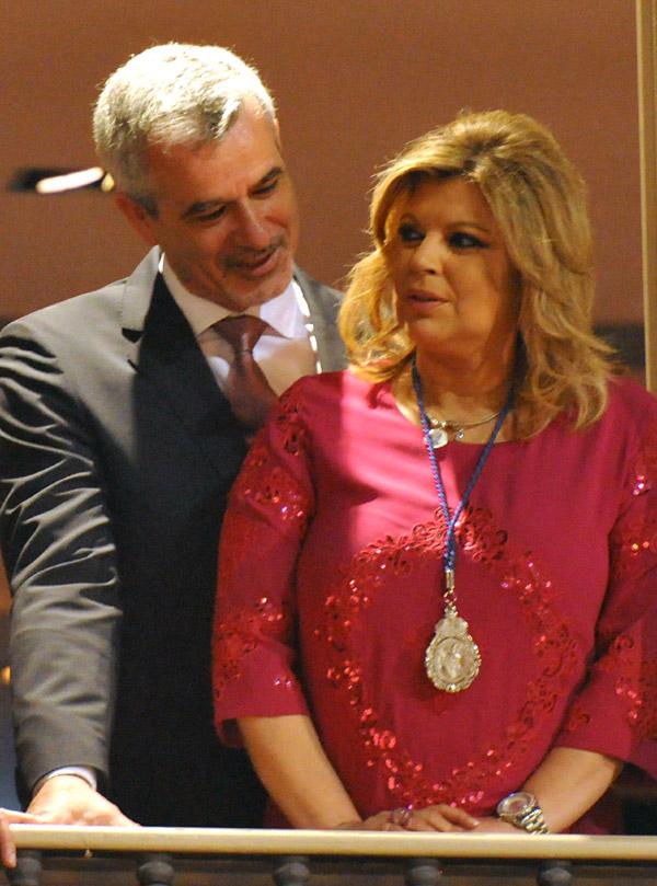 Terelu Campos y José Valenciano continúan con su vida cotidiana tras desmentir su ruptura sentimental