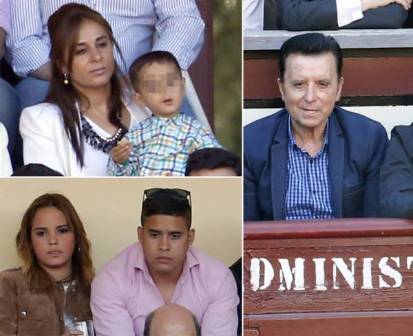 Ortega Cano, en los toros con sus hijos tras abandonar la cárcel de Zuera