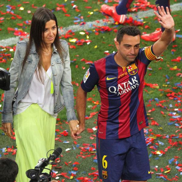 Xavi Hernández y Nuria Cunillera 9d8656494c1