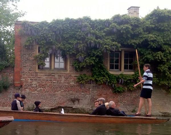 ¡Los Beckham a bordo! Su excursión más familiar revoluciona Cambridge