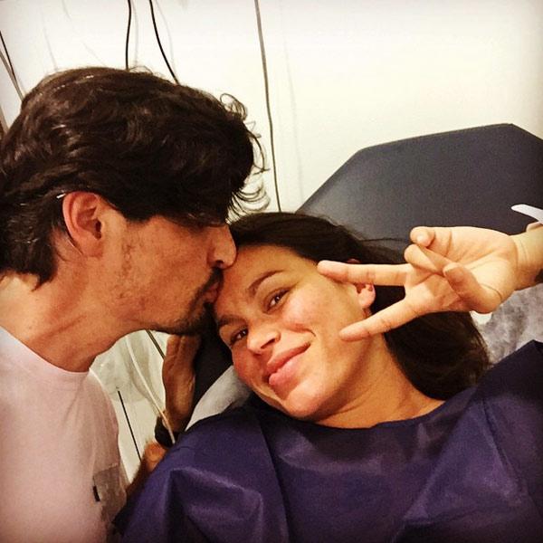 Mireia Canalda y Felipe López han sido papás de su segundo hijo, Nuno: 'Estamos muy felices'