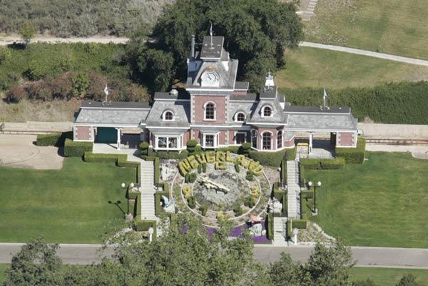 Se busca comprador para Neverland, el hogar de los sueños de Michael Jackson
