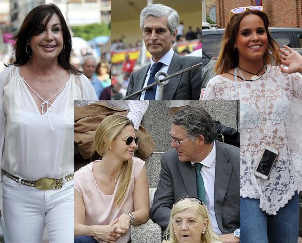 De Carmen Martínez-Bordíu a Gloria Ortega, los aficionados más populares se dan cita en Las Ventas