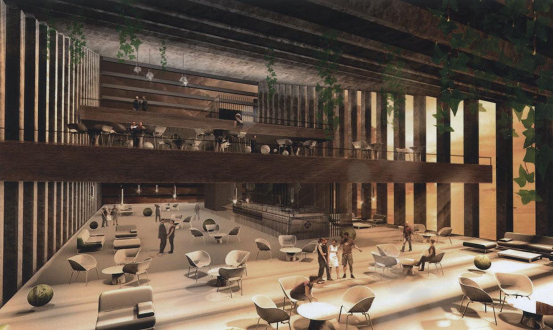 El primer hotel inclinado del mundo tendrá firma española