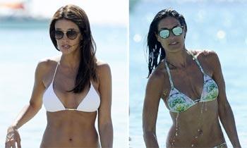 Noelia López y Verónica Hidalgo inauguran la temporada de biquinis en Ibiza