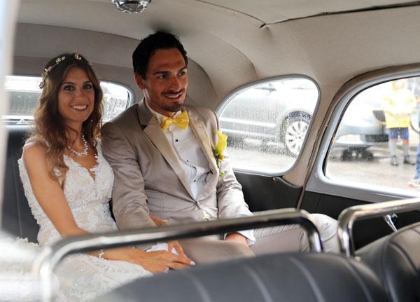 Así fue la boda de los 'Iker Casillas y Sara Carbonero alemanes'