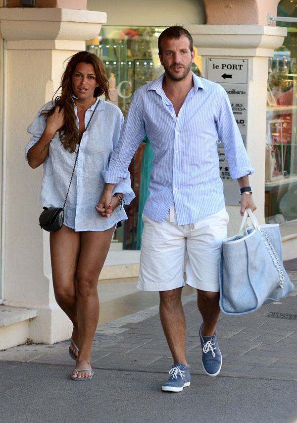 Meis Spain  city pictures gallery : Rafael van der Vaart a Sevilla y su ex, Sylvie Meis, a Ibiza... El ...