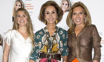 Naty Abascal, Mar Flores y Cari Lapique arropan a Myriam Yébenes en la presentación de su libro 'Cómo gustarte y gustar'