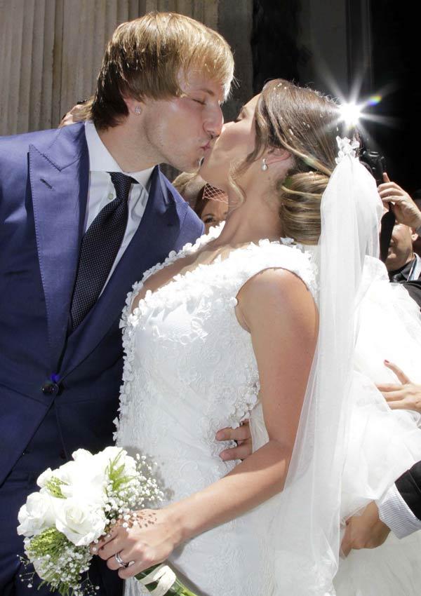 El fin de semana de las bodas del fútbol - Foto