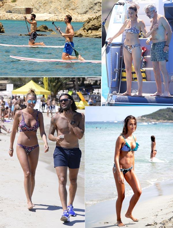 En galería: Los que ya están de vacaciones en Ibiza