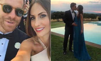Xabi Alonso con Nagore Aranburu y Marc Bartra con Melissa Jiménez... ¡los futbolistas se vuelven a ir de boda!