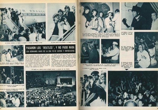 Hace 50 años los Beatles vinieron por primera vez a España, así te lo contó ¡HOLA!