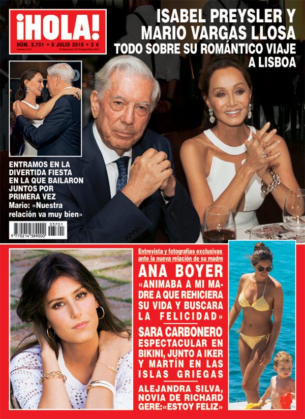En ¡HOLA!: Entramos en la divertida fiesta en la que Isabel Preysler y Mario Vargas Llosa bailaron juntos por primera vez