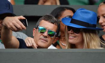 El 'selfie' del amor, encuentros inesperados, amuletos sin suerte... Todo es posible en Wimbledon