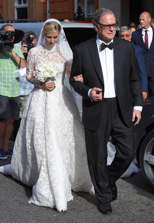 el vestido de novia de nicky hilton