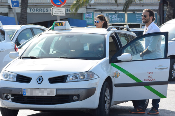 Raquel Sánchez Silva aterriza en Ibiza en la recta final de su embarazo
