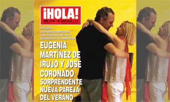 En ¡HOLA!: Eugenia Martínez de Irujo y José Coronado, sorprendente nueva pareja del verano
