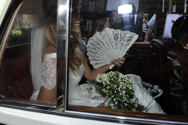 La boda de Alba Carrillo y Feliciano López supera sus propias expectativas