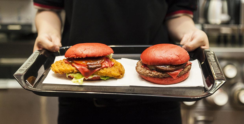 Inventan en Japón... ¡la hamburguesa samurái!