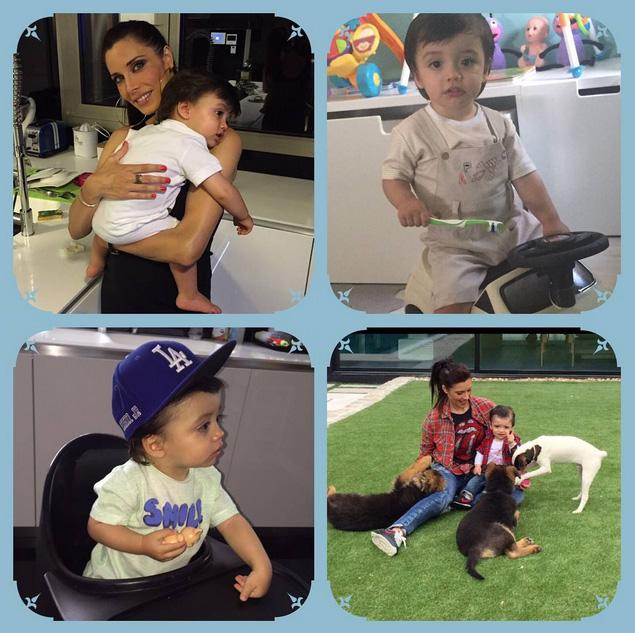 Sergio Ramos comparte nuevas fotos de su hijo