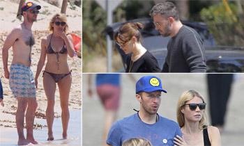 Rupturas al estilo Hollywood: los ex se van juntos de vacaciones