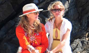 Olivia Palermo y su madre, la prueba de que el estilo se hereda
