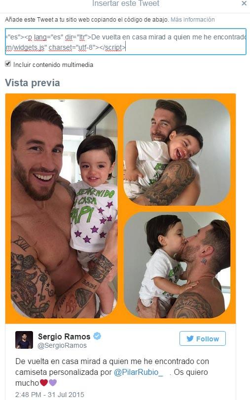 Así recibieron en casa a Sergio Ramos tras volver de su gira con el Real Madrid