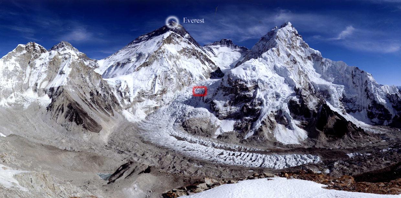 Obtenida la foto más impresionante jamás realizada del Everest
