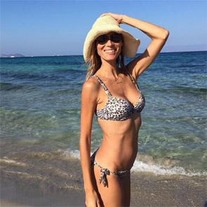 Vanesa Lorenzo, una espectacular mamá modelo en su cuarto mes de embarazo
