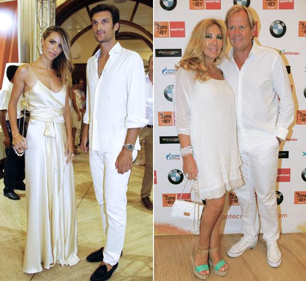 Cuatro años después de su boda, Carolina Cerezuela vuelve a vestirse de blanco