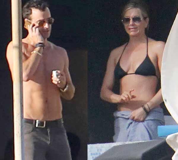 Tras su boda secreta, así está siendo la lujosa luna de miel de Jennifer Aniston y Justin Theroux