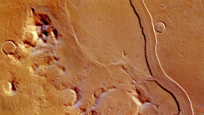 Una sonda espacial obtiene unas sensacionales imágenes de lo que pudo ser un antiguo río marciano