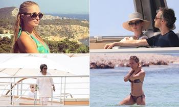 Las estrellas internacionales se dejan seducir por las islas Baleares