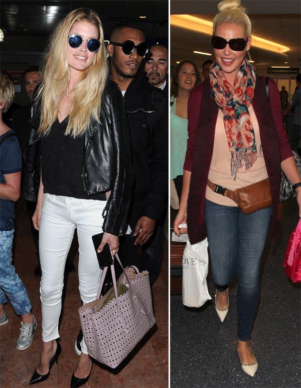 Catherine Zeta Jones, Sienna Miller, Miranda Kerr... ¿conoces a las más 'chic' de la terminal?