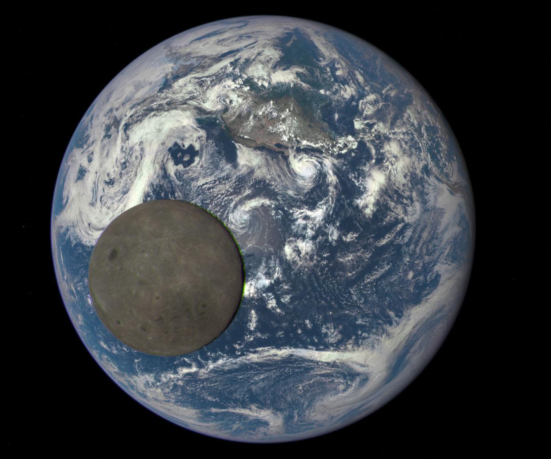 Espectacular imagen de la cara oculta de la Luna