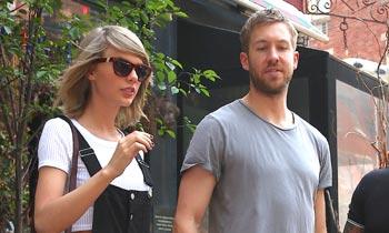 Calvin Harris desata su genio para defender a su novia, Taylor Swift