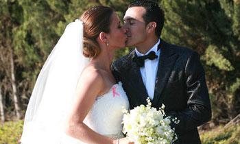 El futbolista Pedro Rodríguez y su mujer, listos para iniciar su vida de casados en Londres