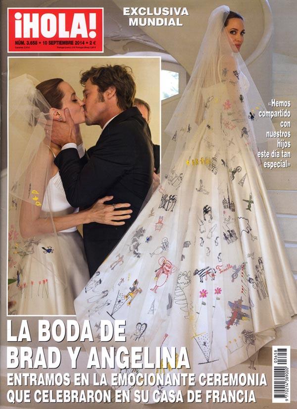 Brad y Angelina cumplen su primer aniversario de boda, así son las citas más románticas de la pareja