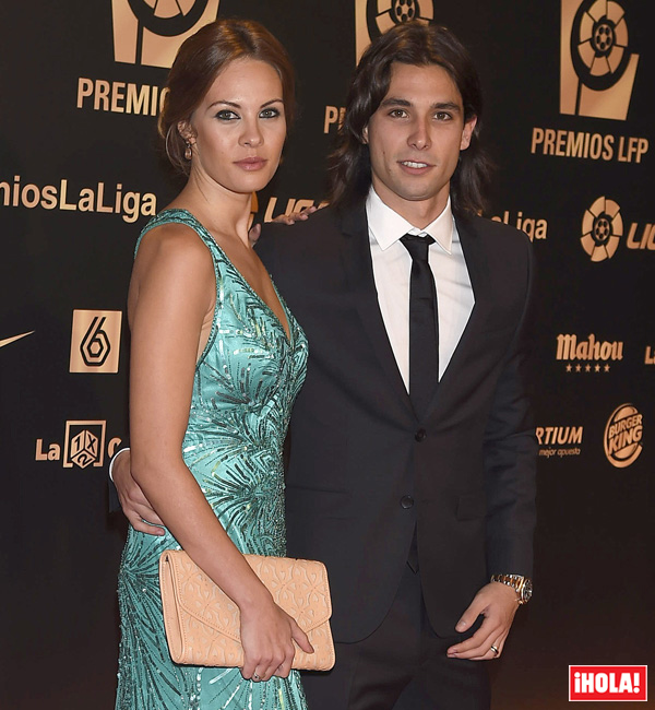 Jessica Bueno y Jota Peleteiro esperan su primer hijo